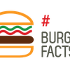 Logo #Burgerfacts en la Metro