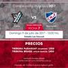 Logo Nacional vs Cerro,9/7/17