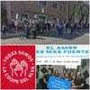 "Logo #ElAmorEsMasFuerte.  Ana del ""Alvarez Thomas"" invita este Miércoles al abrazo a la Escuela, 15:30 hs"