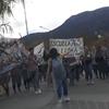 Logo #LagoPuelo Alumnos de la escuela 756 piden volver a las aulas