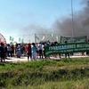 Logo Reportaje a Alejandro Troman trabajador despedido de Fanazul desde el corte de ruta