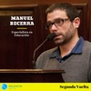 Logo Entrevista con Manuel Becerra, especialista en educación por Segunda Vuelta