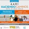Logo Nueva edición de AADI Haciendo Caminos en Paraná