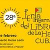Logo Federico Giménez en la °28 Feria Internacional del Libro en la Habana, CUBA