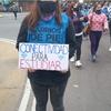Logo Móvil Amparo Crivos desde la movilización de Barrios de Pie en pedido a conectividad 8/06
