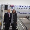 "Logo LATAM Airlines lanza ""Recicla tu Viaje"""