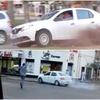 Logo Jefe URIV Ariel Bengochea - Conductor realizó destrozos en el centro de la ciudad - EN EL MEDIO