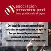 Logo Asociacion Pensamiento penal area politicas de drogas en IGUANAS EN EL MAR