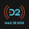 Logo MAS DE DOS con ALEJANDRO KAPENIAK Y EDUARDO SOLARI