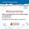 Logo Gonzalo Frasca sobre el rol de los videojuegos en el aprendizaje