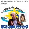Logo Cristina Alvarez Rodriguez con  Alberto Lettieri en #LaHoraDeAlberto, 14/11/2019