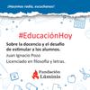 Logo Juan Ignacio Pozo se refirió a cómo estimular a los alumnos