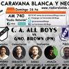 Logo All Boys 0 – 1 Guillermo Brown (Transmisión de @caravanaallboys x AM 740)