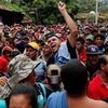 Logo Caravana de migrantes hondureños fueron frenados en México | Hugo Vera, desde Tecún Umán, Guatemala