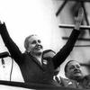 Logo Audio con la voz de Eva Perón hablando a los trabajadores ferroviarios en 1948