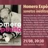 """Logo Se presenta el libro """"Homero Expósito: sonetos inéditos"""""""