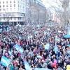 """Logo Incicco: """"la marcha del sábado fue una enorme inyección anímica para todos, sobre todo para el presi"""