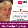Logo Entrevista a la Lic Claudya Stigliano, en Torrado intenso, el sabor de la vida