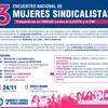 Logo #GÉNERO | #MujeresSindicalistas | Tercer encuentro de unidad