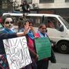 Logo #NiUnaMenos   La Unidad de las mujeres trabajadoras