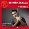 Logo Caimi a las 6 / AM750 recomienda el recital de Sergio Zabala en IG @elgalpondehaedo
