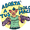 Logo Abortá a tu idolx / Jueves 31 de mayo de 2018