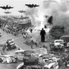 Logo 66 Años de la inauguración de fuego de la Fuerza Aérea sobre población civil en Plaza de Mayo