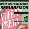 Logo #FueraPorta SilviaCruz en La Feria