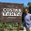 Logo Costa y Pampa: Una bodega de influencia oceánica