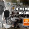 """Logo """"De Memoria y Orgullo"""" Por: Carlos Polimeni - Radio del Plata"""