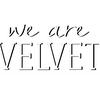 Logo #Entrevista a Macu Basile creadora de #WeAreVelvet