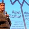 """Logo Axel Kicillof en la presentación del libro """"Diálogo sin Corbata"""" Parte II"""