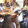 Logo Por la seguridad: Concejales se reunieron con autoridades de la Departamental de policía