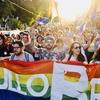 Logo Iª Marcha del Orgullo LGBT en Almirante Brown: Lo importante de visibilizarnos en nuestras calles