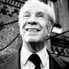 """Logo Jorge Luis Borges: """"No nos une el amor sino el espanto / Será por eso que la quiero tanto"""""""