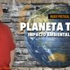 """Logo """"Planeta tierra - Impacto ambiental y humano"""" Por: Mario Portugal - Radio del Plata"""