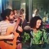 Logo Entrevista a Patricia Souza, cantante brasilera, en Sonidos de la Calle, FM La Patriada