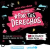 Logo Femigangsta en La Once Diez sobre el Festival #PorTusDerechos