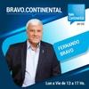 """Logo El Espacio Literario con Paula Margules en """"Bravo.Continental"""": """"Una tarde con Roberto Arlt""""."""