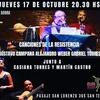Logo Victor Hugo recomienda Canciones de la Resistencia para este jueves 17 de octubre