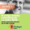 Logo Amado Boudou en La Radio MAK