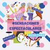 Logo #SensacionesEspectaculares acompañanado la #Cuarentena