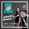 Logo Studio 91.9 - Modo Up Studio - Nazarena Galantini / Campaña Emergencia Nacional en Violencia