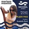 Logo Mariana Masetto en Mujer País programa de Anabella Zoch