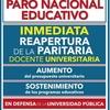 Logo Entrevista Federico Montero - FEDUBA/CONADU sobre Paro Nacional Docente 24/8