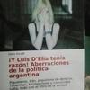"""Logo EXCLUSIVO: Carlos Escudé y su nuevo libro """"Luis D'elia tenía razón.."""".Irán no tuvo nada que ver con"""