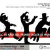 Logo Murga e inclusión en el marco de los 30 años del Primer taller de murga en el Rojas