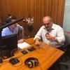 Logo Ricardo Colombi en la radio de la Ciudad de Buenos Aires