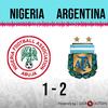 Logo Gol de Argentina: Nigeria 1 - Argentina 2 - Relato de @Continental590