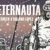 Logo El Eternauta, la historia del héroe colectivo